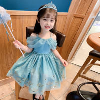 pizex children Other / other 51-100 yuan sixty-three Blue suspender skirt Size 90, 100, 110, 120, 130, 140 Medium length nothing