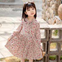 Dress female Other / other Other 100% spring and autumn princess Long sleeves Broken flowers Cotton blended fabric other 100-140 Class B 12, 11, 10, 9, 8, 7, 6, 5, 4, 3 Chinese Mainland Zhejiang Province Huzhou City