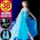 Dress Other / other female 100cm 110cm 120cm 130cm 140cm 150cm Organic cotton summer princess Solid color DFG878 Class A