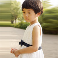 Dress female Other / other Cotton 74% others 26% summer princess Skirt / vest Broken flowers 12 months, 2 years, 3 years, 4 years