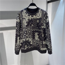 Sweater other Jiang Taiping and niaoxiang Cashew flower grey sweater S,M,L,XL,XXL Cartoon Socket ordinary No collar spring Loose leisure time youth tide Regular sleeve B1EBB1150 other printing motion