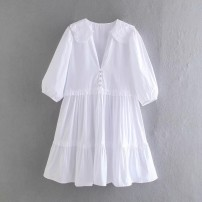 Dress Spring 2021 As shown in the figure XS,S,M,L Short skirt singleton  street 18-24 years old 31% (inclusive) - 50% (inclusive) Europe and America