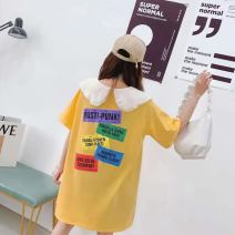 T-shirt White, black, pink, yellow Average size Spring 2021 other 30% and below