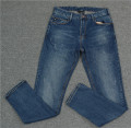 Jeans Fashion City Others routine Micro bomb trousers Other leisure Four seasons middle-waisted Slim feet 2021 Little straight foot zipper cotton