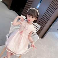 Dress Light green, pink female Other / other 80cm,90cm,100cm,110cm,120cm,130cm Other 100% summer Chinese style Short sleeve lattice cotton other Class B 12 months, 18 months, 2 years old, 3 years old, 4 years old, 5 years old, 6 years old, 7 years old, 8 years old Chinese Mainland Shanghai