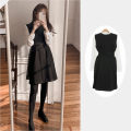 Dress Winter 2020 Shirt, vest, skirt S,M,L,XL Short skirt Two piece set Long sleeves commute stand collar High waist Solid color A-line skirt shirt sleeve Others 18-24 years old Type A Other / other Korean version 31% (inclusive) - 50% (inclusive)