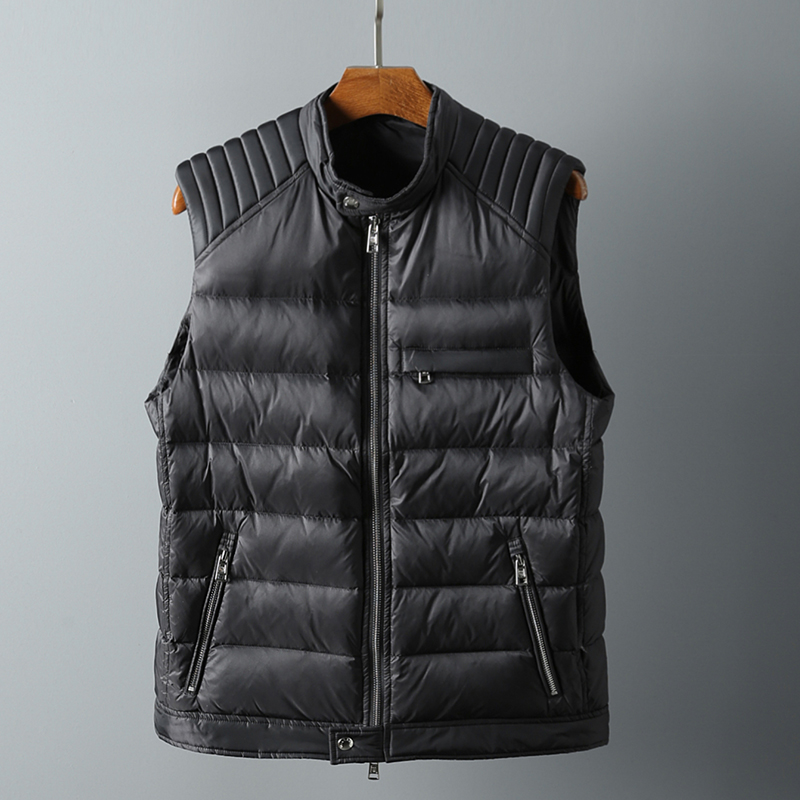Down Jackets Blue black orange Others White duck down M L XL 2XL Youth fashion Other leisure routine thickening 90% one thousand five hundred and sixty-six Wear out Hoodless stand collar Wear out youth 150g (including) - 200g (excluding) tide Polyamide fiber (nylon) 100% 2018 Multiple pockets
