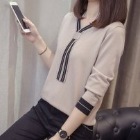 Outdoor casual clothes Tagkita / she and others female eighty point seven two Khaki, black, white 51-100 yuan M 90-105,L 100-120,XL 115-140,2XL 135-160,3XL 150-180,4XL 170-200 other Autumn 2020 autumn V-neck