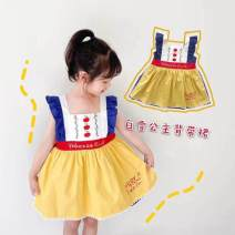 Dress Snow white vest skirt female Other / other 90, 100, 110, 120, 130, 140 Cotton 95% other 5% 12 months, 18 months, 2 years old, 3 years old, 4 years old, 5 years old, 6 years old, 7 years old, 8 years old