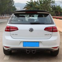 Surrounded by cars Volkswagen / Volkswagen Middle out posterior lip (carbon fiber) Golf 7 Automobile modified parts carbon fibre Small encirclement Rear wheel eyebrow others Support installation Posterior lip