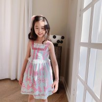 Dress Red, blue female Other / other 90cm,100cm,110cm,120cm,130cm,140cm Other 100.0% spring and autumn solar system Long sleeves Cartoon animation Cotton blended fabric A-line skirt other Chinese Mainland Zhejiang Province Huzhou City