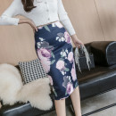 skirt Summer 2021 S,M,L,XL Decor Middle-skirt commute High waist skirt Decor Type H 25-29 years old 71% (inclusive) - 80% (inclusive) other other Korean version