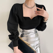 Fashion suit Spring 2021 Average size Black T, leather skirt s, Leather Skirt M 18-25 years old Other / other 51% (inclusive) - 70% (inclusive)
