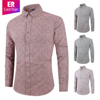 shirt Youth fashion routine square neck Long sleeves easy Other leisure autumn youth Business Casual 2019 Dot other other jacquard weave