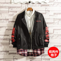 Jacket Other / other Youth fashion Black, green, red M,L,XL,2XL,3XL,4XL,5XL routine easy Other leisure spring N4-1-JK88