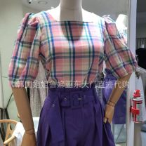 shirt routine other 96% and above Regular payment Solid color One size fits all Pink, blue and green