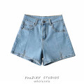 Jeans Summer 2021 White, black, light blue, dark blue 26,27,28,29,30,31,32 shorts High waist Pencil pants routine 18-24 years old Others, white, old, washed Dark color