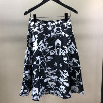 skirt Spring 2021 1 = XS, 2 = s, 3 = m, 4 = L, 5 = XL printing Middle-skirt Versatile Natural waist A-line skirt Decor Type A 51% (inclusive) - 70% (inclusive) other Professional amashite other