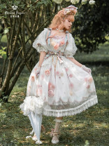 Dress Spring 2021 Pink white S [new at 19:00 on April 30], m [new at 19:00 on April 30], l [new at 19:00 on April 30], customized size [not accept customization] On the way out