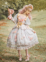 Dress Spring 2021 Greyish Pink S [new at 19:00 on April 30], m [new at 19:00 on April 30], l [new at 19:00 on April 30], customized size [not accept customization] On the way out