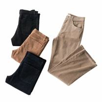 Casual pants black , Navy , khaki , brown S,M,L Spring 2021 trousers street cotton Europe and America