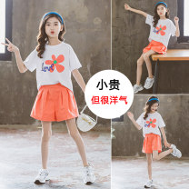 suit 2 pieces Condom elder Giving presents at school 14, 3, 5, 9, 12, 7, 8, 6, 13, 11, 4, 10 Other / other female summer other cotton routine Korean version There are models in the real shot Short sleeve + pants nothing Class B Cotton 94% polyurethane elastic fiber (spandex) 6% Chinese Mainland