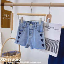 trousers Other / other female Denim blue (small in stock) summer shorts Korean version No model Jeans Leather belt middle-waisted other Don't open the crotch Other 100% other Other brands Three, four, five, six, seven, eight, nine, ten, eleven
