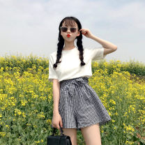 Fashion suit Spring 2021 S,M,L,XL,2XL White, blue, black, random gift 18-25 years old 31% (inclusive) - 50% (inclusive)