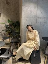 Fashion suit Autumn 2020 XS,S,M,L,XL Top beige, top black, skirt beige, skirt black MONARTW OC097184&OG09961 51% (inclusive) - 70% (inclusive) polyester fiber