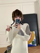 Wool knitwear Winter 2020 XS,S,M,L,XL White, light green, blue Long sleeves singleton  Socket acrylic fibres 31% (inclusive) - 50% (inclusive) routine street OS030980 MONARTW Europe and America
