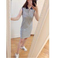 Dress Spring 2020 Navy White Stripe XS,S,M,L,XL