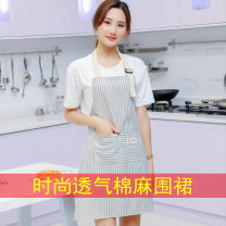 apron Sleeveless apron antifouling Japanese  other Household cleaning Retro style