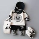 suit Le Nubi White Eagle suit 17606 Red Eagle suit 17606 73 / recommendation 65-75cm 80 / recommendation 75-85cm 90 / recommendation 85-95cm 100 / recommendation 95-105cm 110 / recommendation 105-115cm male spring and autumn Korean version Long sleeve + pants 2 pieces routine No model Socket nothing