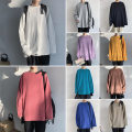 T-shirt Youth fashion White, green, pink thin S,XL,L,M,XXL,XXXL VIVGAE Long sleeves Crew neck easy Other leisure spring RTY-659 youth Exquisite Korean style other 2021 Solid color Rib decoration Cotton ammonia No iron treatment