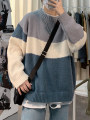 T-shirt / sweater Tagkita / she and others Youth fashion M,L,XL,2XL,3XL routine Socket Crew neck Long sleeves winter easy 2020 leisure time tide teenagers routine Color contrast