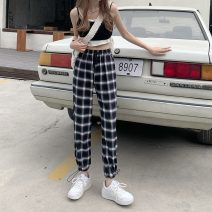Casual pants Big black, big white, small white Average size Summer 2021 trousers Straight pants High waist commute routine 18-24 years old 51% (inclusive) - 70% (inclusive) 2830F Korean version polyester fiber