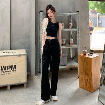 Fashion suit Summer 2021 S. M, average size White vest, black vest, belt for grey trousers, belt for black trousers 18-25 years old 870X 51% (inclusive) - 70% (inclusive) cotton
