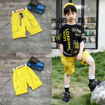 trousers La Fleur neutral summer Pant Korean version There are models in the real shooting Casual pants cotton Cotton 62% polyester 38% 2757 other 7, 8, 6, 13, 11, 5, 4, 10, 9, 12 Chinese Mainland yellow 110 [7], 120 [9], 130 [11], 140 [13], 150 [15], 160 [17]