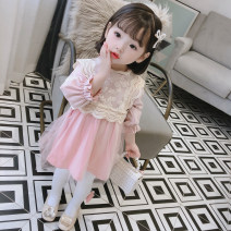 Dress spring and autumn Korean version cotton A-line skirt Solid color Class A female Other / other Cotton 95% others 5% 6 months, 9 months, 18 months, 2 years old, 3 years old, 4 years old, 5 years old, 6 years old, 7 years old, 8 years old Long sleeve Zhejiang Province 2020914 Huzhou City