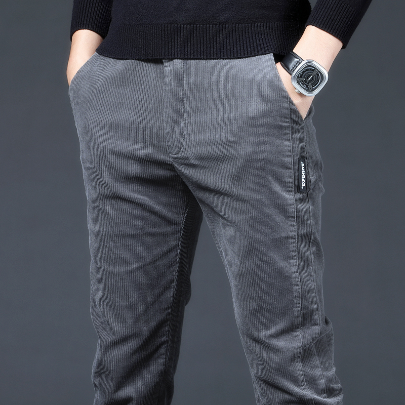 Western-style trousers Huanghuang childe Youth fashion 28 29 30 31 32 33 34 36 38 trydeet trousers Other 100% Slim fit autumn leisure time youth tide Autumn 2020 other No iron treatment other