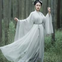 Hanfu 81% (inclusive) - 90% (inclusive) S,M,L polyester fiber