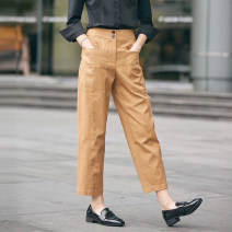 Casual pants Khaki, black 1 = XS, 2 = s, 3 = m, 4 = L, 5 = XL Spring 2021 Ninth pants Straight pants High waist commute routine 25-29 years old 96% and above five million one hundred thousand and sixty-six - four million two hundred and one thousand four hundred and sixty-three - 001 O'amash banner