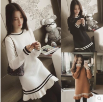 Wool knitwear Autumn 2020 Average size White, camel, black, leggings, white Long sleeves singleton  Socket other 51% (inclusive) - 70% (inclusive) Medium length routine commute Self cultivation routine Solid color Socket Korean version Other / other