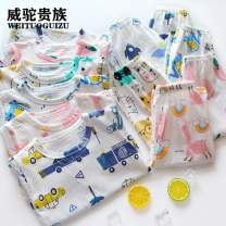 Home suit Weituo nobility neutral 6 years old Flax 100% cotton Class A PIBJE_1620438950171 Spring 2021 leisure time Henan Province Anyang City Chinese Mainland 90cm 100cm 110cm 120cm 130cm 140cm