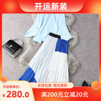 Fashion suit Spring 2021 S,M,L,XL Blue with white T11842