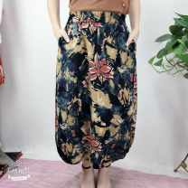 skirt Summer 2020 Average size Pink lotus, circle Other / other