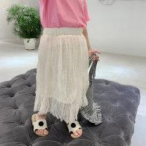 skirt Apricot Class two female Other 100% summer skirt Korean version Dot other other Class B