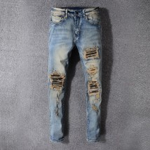 Jeans fashion City Pictured Other /other 28 29 30 31 32 33 34 36 38 40 42 conventional Conventional denim Other leisure trousers High waist tide youth
