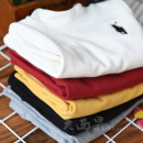 T-shirt Maixiguo neutral spring and autumn Long sleeves Crew neck No model nothing cotton Solid color Cotton 95% polyurethane elastic fiber (spandex) 5% Class B Sweat absorption 2, 3, 4, 5, 6, 7, 8, 9, 10, 11, 13, 14
