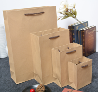 Gift bag / plastic bag 10 Mini, extra small, small, medium, large 180g kraft paper Retro style 2kg (4-6kg)